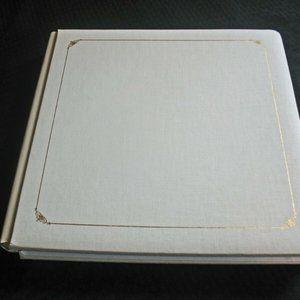 New Creative Memories 12 x 12  Ivory  Scrapbook Al